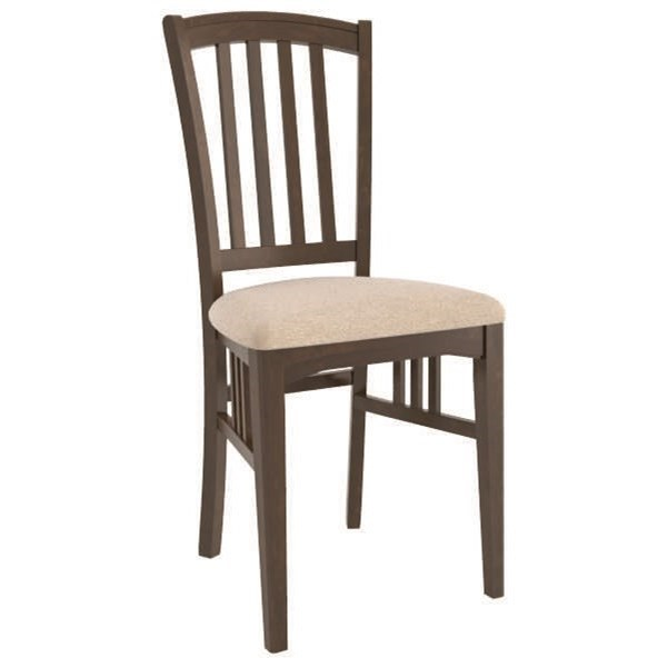 Core - Custom Dining Customizable Dining Side Chair by Canadel at Dinette Depot