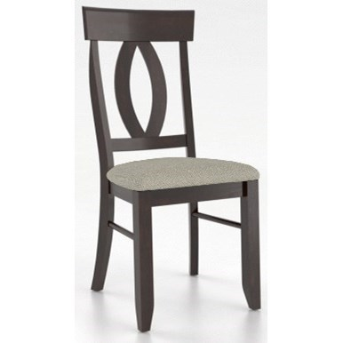 Core - Custom Dining Customizable Side Chair by Canadel at Steger's Furniture