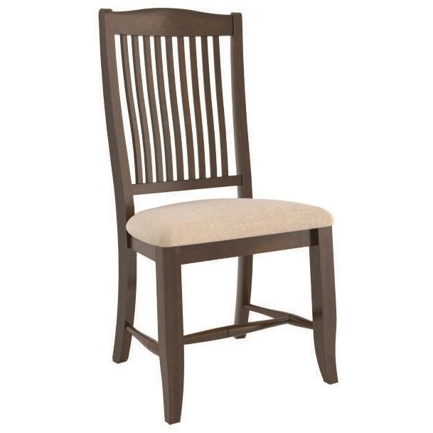 Core - Custom Dining Customizable Side Chair by Canadel at Jordan's Home Furnishings