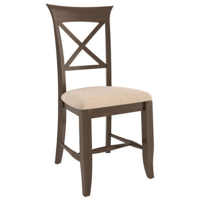 Core - Custom Dining Customizable Upholstered Side Chair by Canadel at Wilson's Furniture