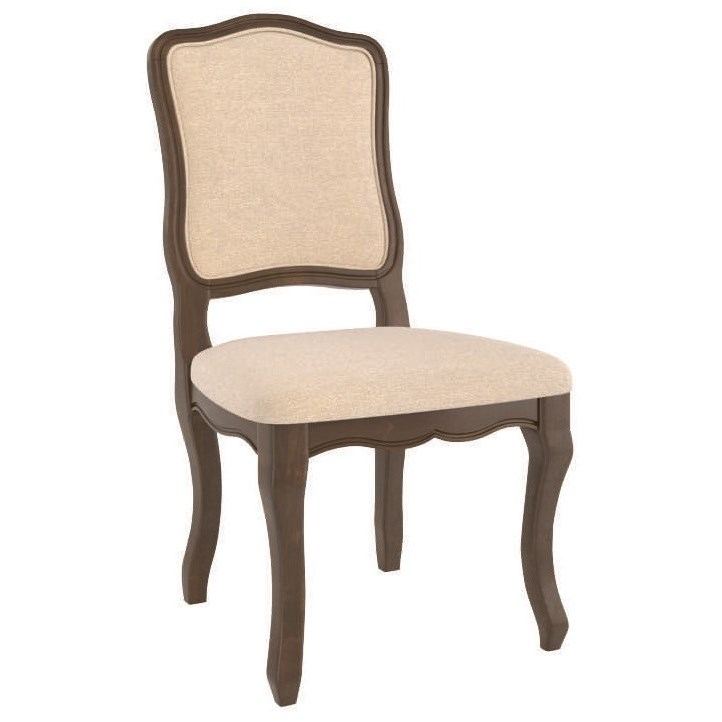 Core - Custom Dining Customizable Upholstered Side Chair by Canadel at Steger's Furniture