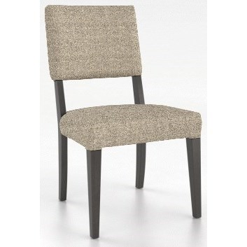 Core - Custom Dining Customizable Upholstered Side Chair by Canadel at Dinette Depot