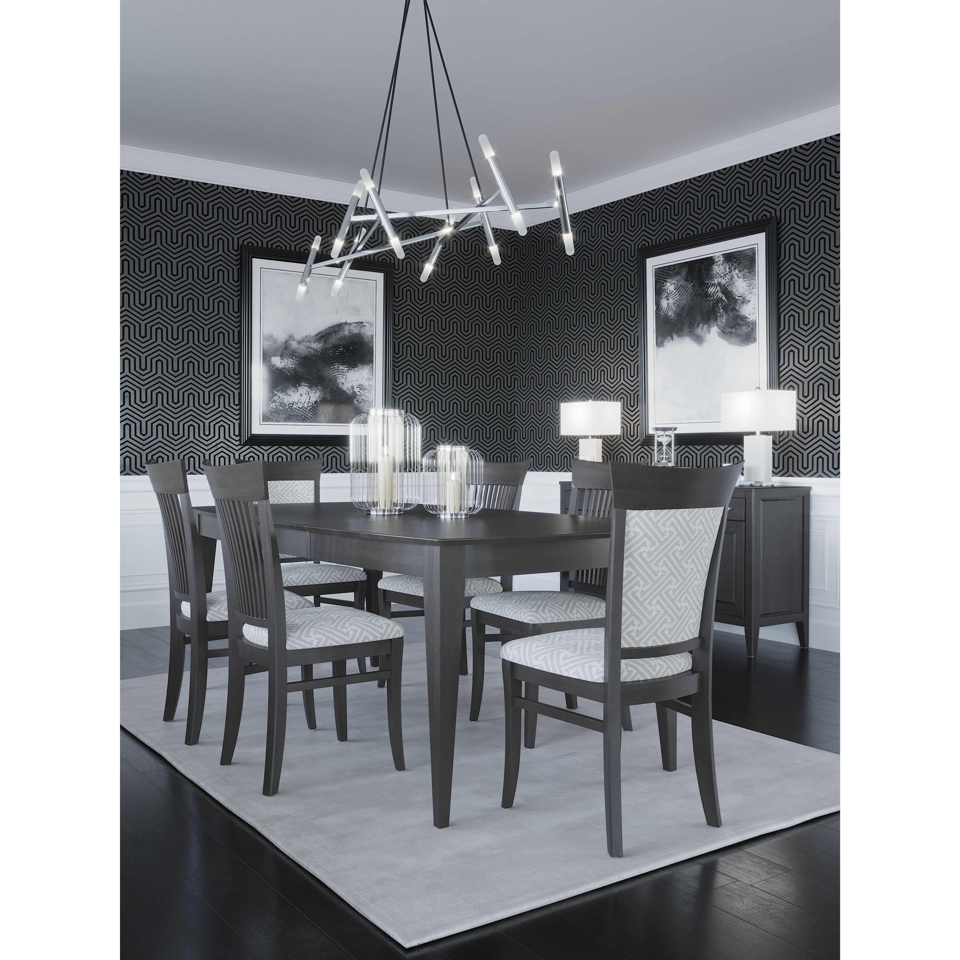 Core - Custom Dining Dining Room Group by Canadel at Dinette Depot