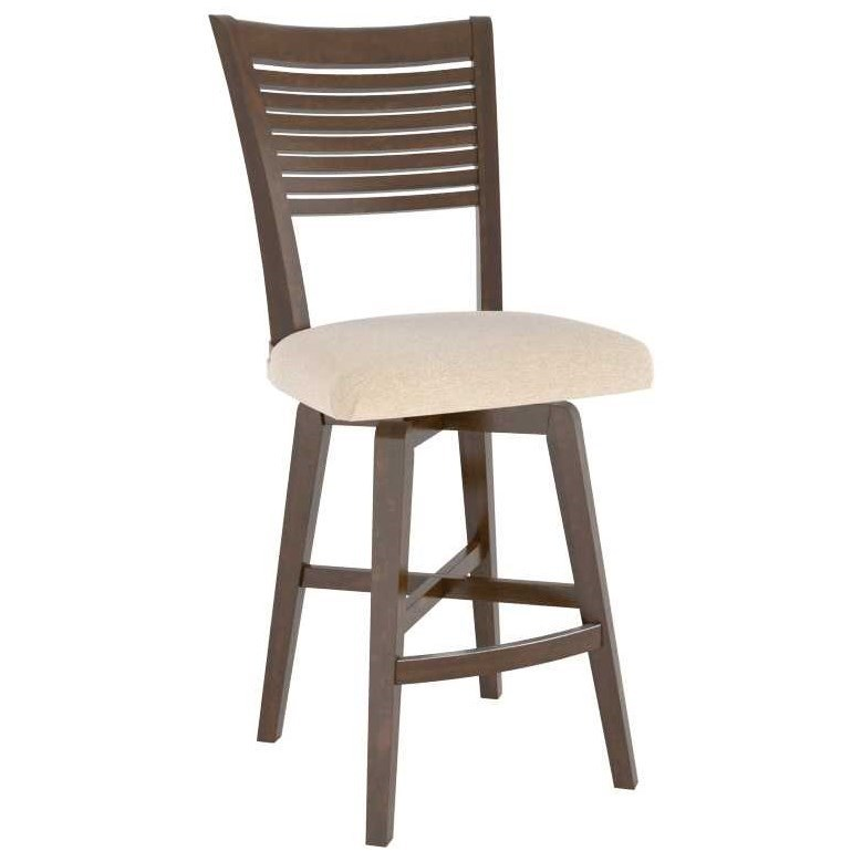 Core - Custom Dining Customizable Counter Stool by Canadel at Steger's Furniture