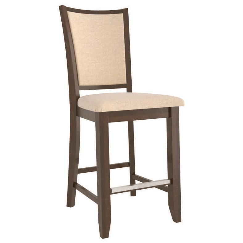 Core - Custom Dining Customizable Upholstered Counter Stool by Canadel at Dinette Depot