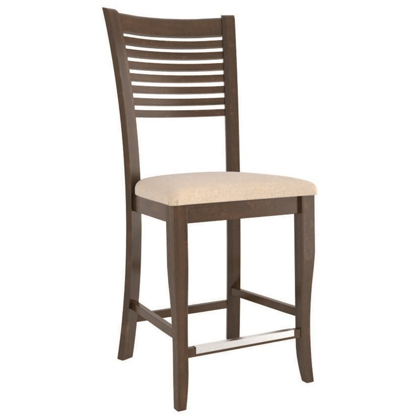 Core - Custom Dining Customizable Counter Stool by Canadel at Dinette Depot