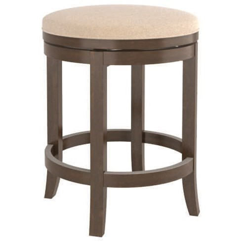 Core - Custom Dining Customizable Swivel Counter Stool by Canadel at Dinette Depot