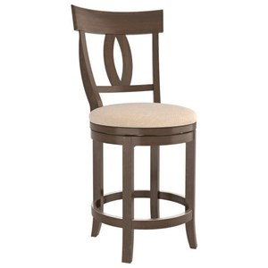 Customizable Swivel Counter Stool