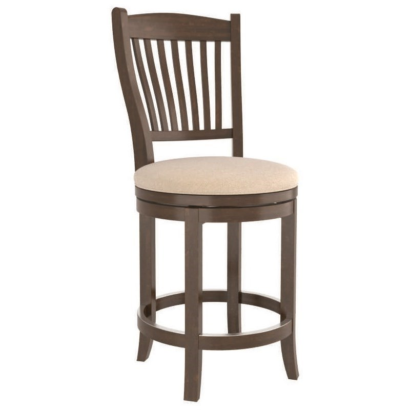 Core - Custom Dining Customizable Couter Swivel Stool by Canadel at Steger's Furniture