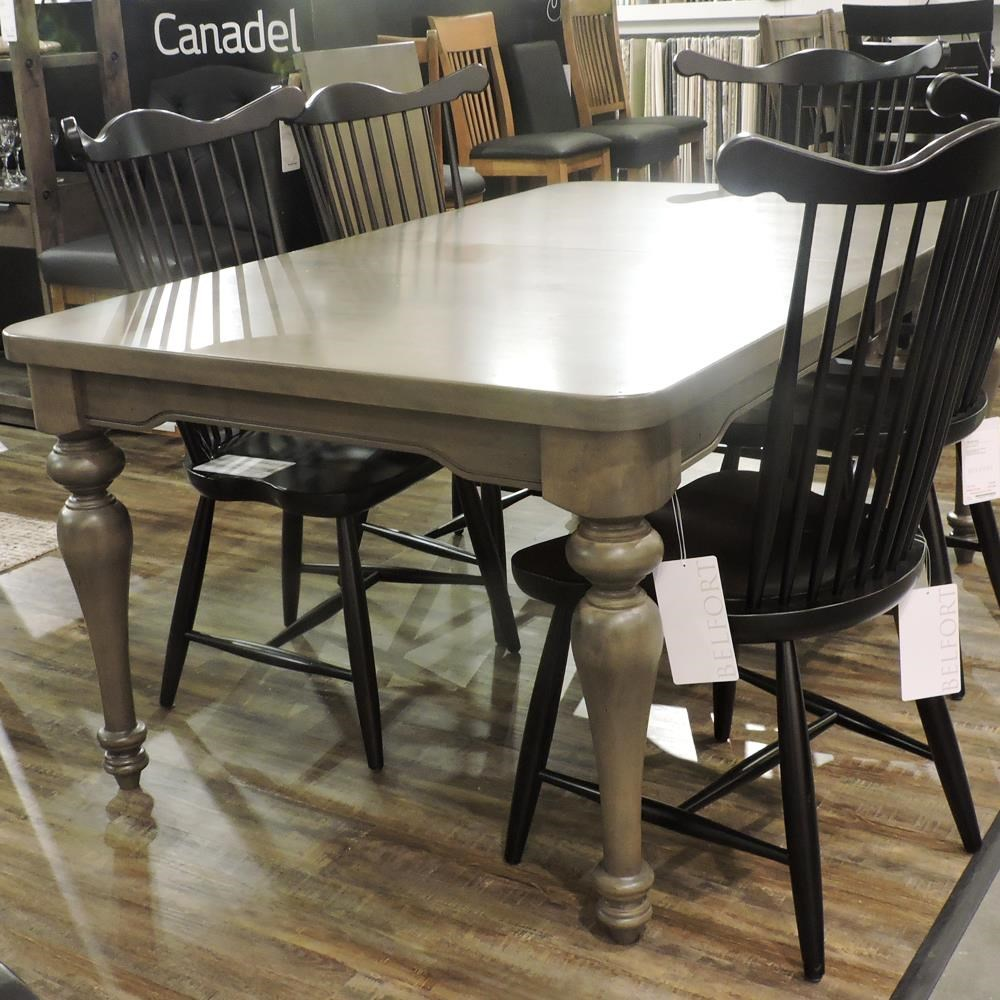 Core - Custom Dining Customizable Dining Table by Canadel at Belfort Furniture