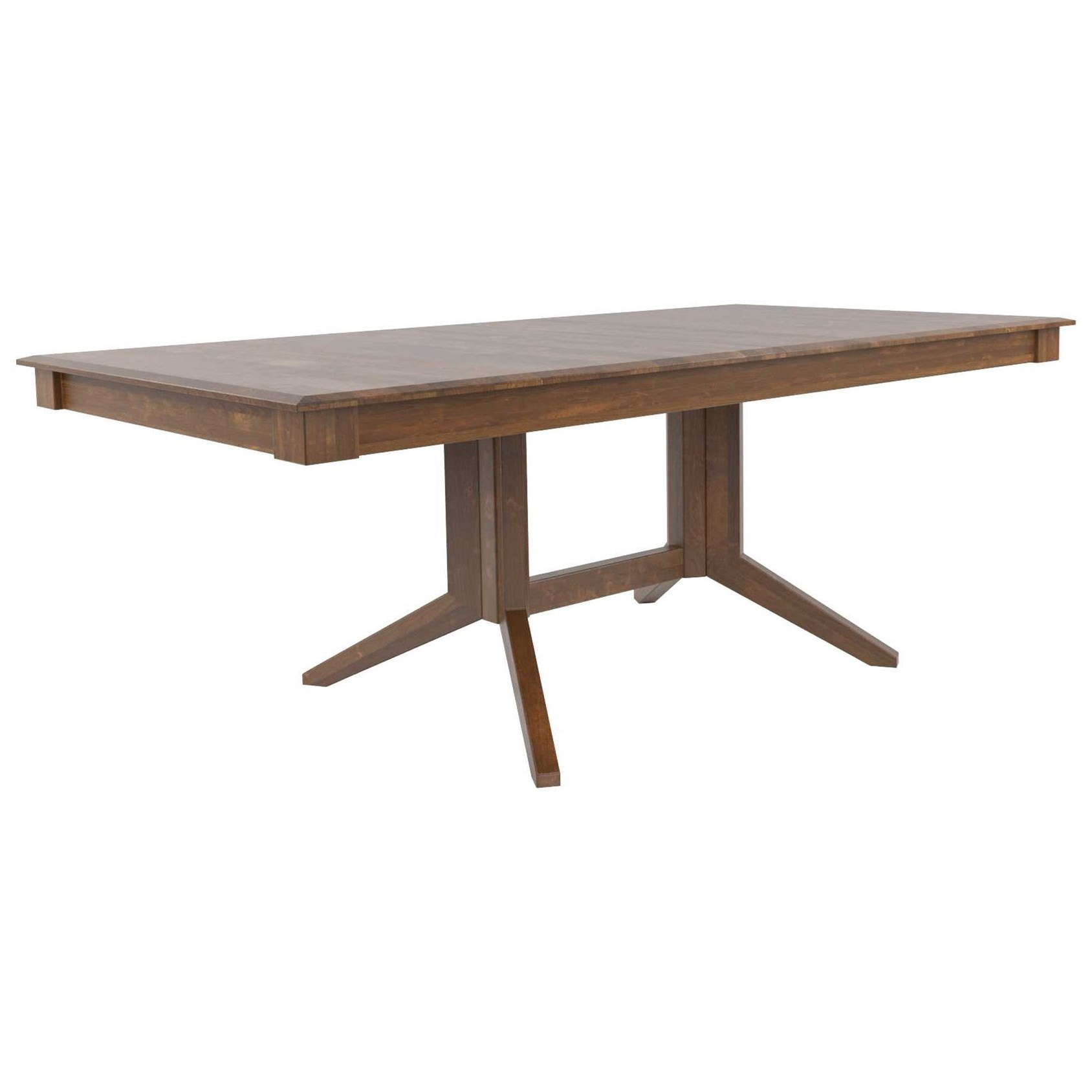 Core - Custom Dining Customizable Rectangular Dining Table by Canadel at Jordan's Home Furnishings