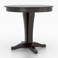 Core - Custom Dining Customizable Round Counter Table by Canadel at Dinette Depot