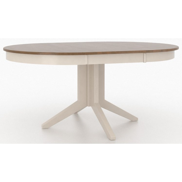 Core - Custom Dining Customizable Dining Table by Canadel at Jordan's Home Furnishings