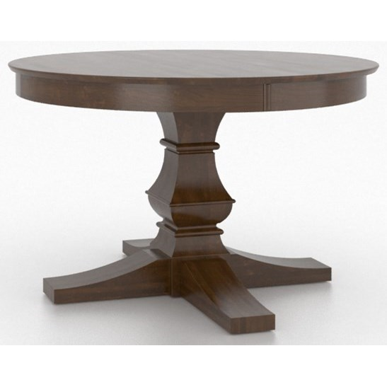 Core - Custom Dining Customizable Round Table by Canadel at Dinette Depot