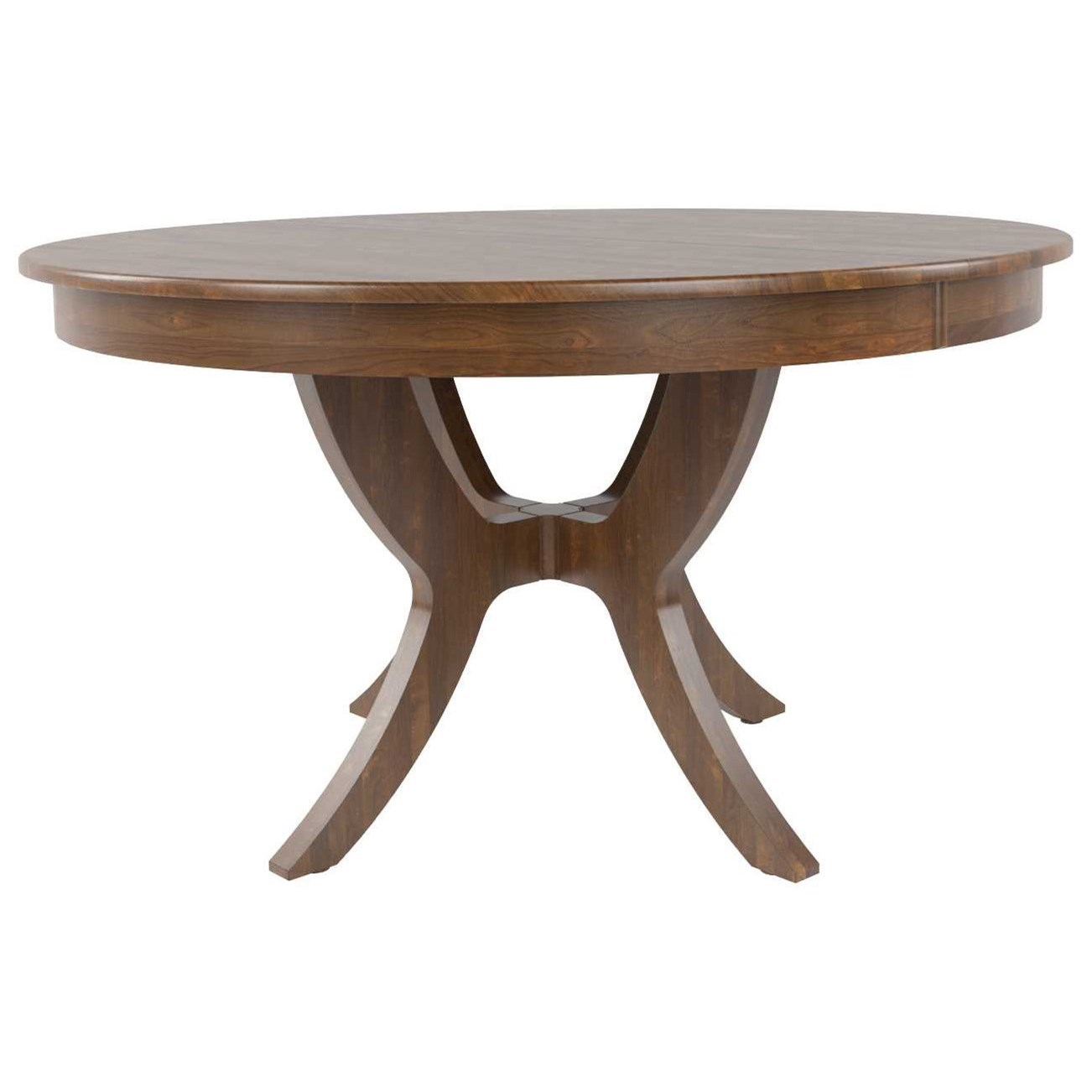 Core - Custom Dining Customizable Round Dining Table by Canadel at Dinette Depot