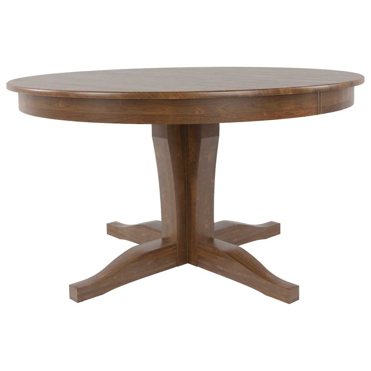 Core - Custom Dining Customizable Round Dining Table by Canadel at Jordan's Home Furnishings