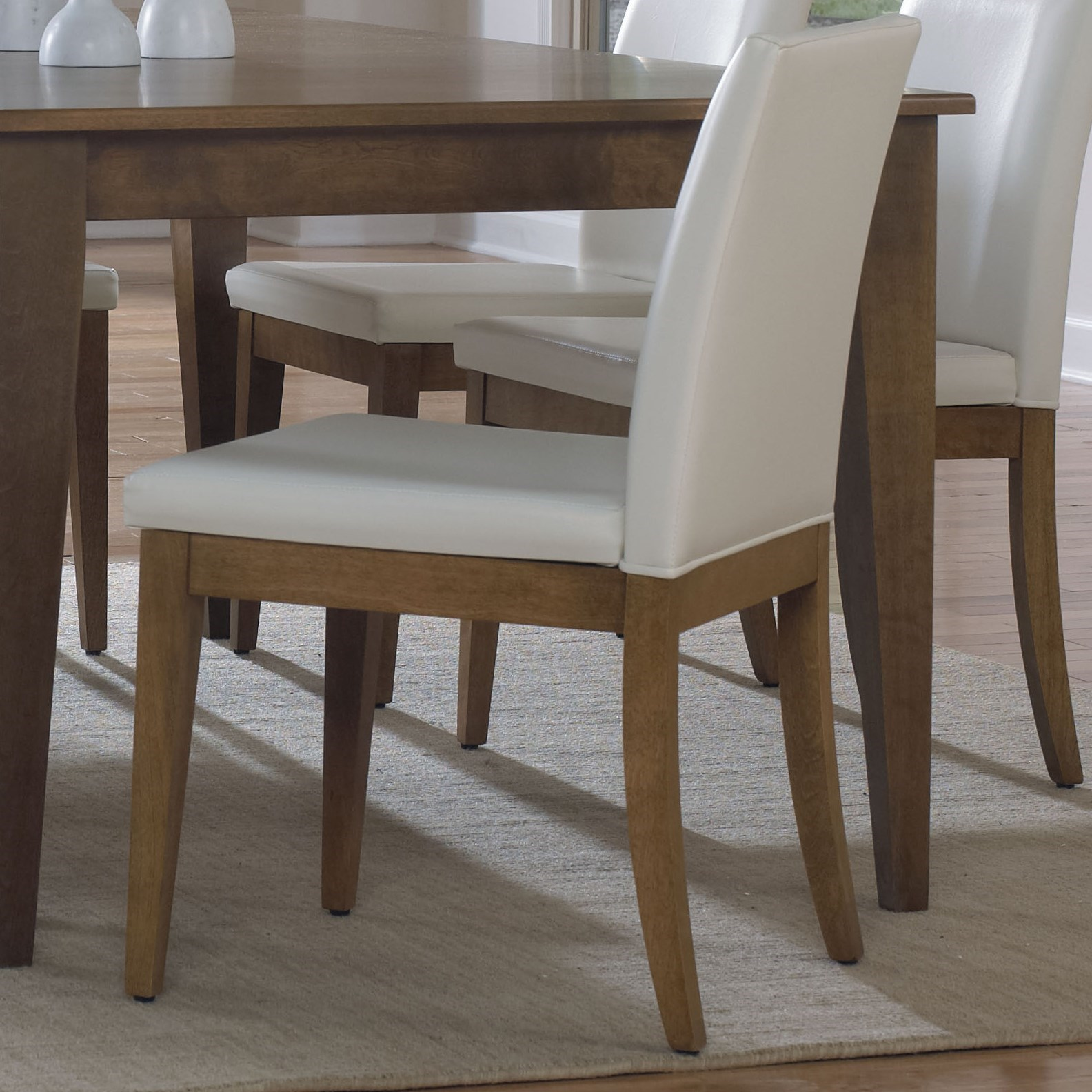 Custom Dining Customizable Side Chair by Canadel at Dinette Depot