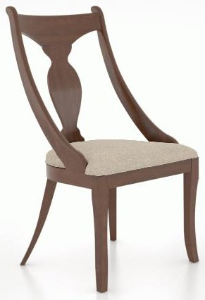 Custom Dining Arm Chair by Canadel at Johnny Janosik