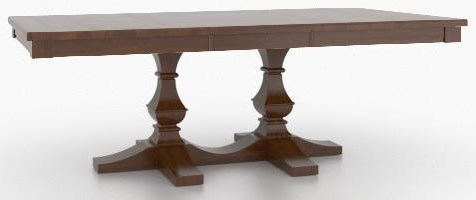 "Custom Dining 30"" Rectangle Table by Canadel at Johnny Janosik"
