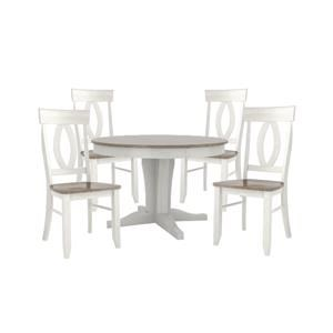 """48"""" ROUND TABLE AND 4 CHAIRS"""