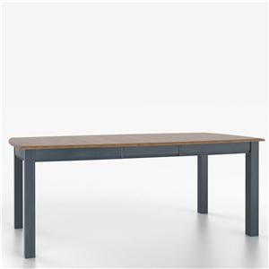 Customizable Boat Shape Table with Legs