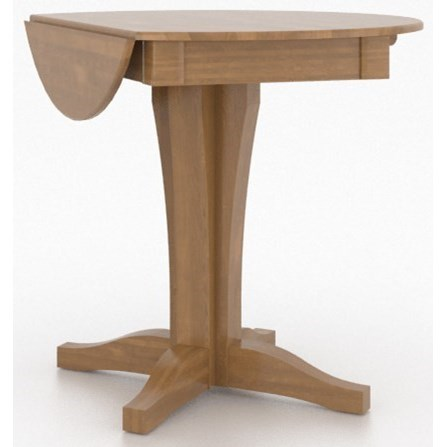 Custom Dining Counter Height Tables Customizable Drop Leaf Counter Table by Canadel at Suburban Furniture