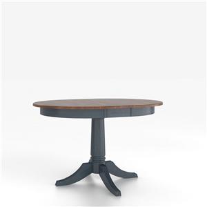 <b>Customizable</b> Round Table w/ Pedestal