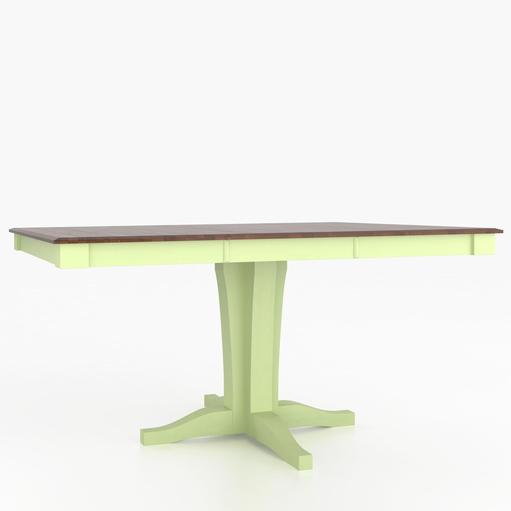 Custom Dining Counter Height Tables Customizable Square Counter Table by Canadel at Dinette Depot