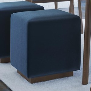 Customizable Cube Upholstered Bench