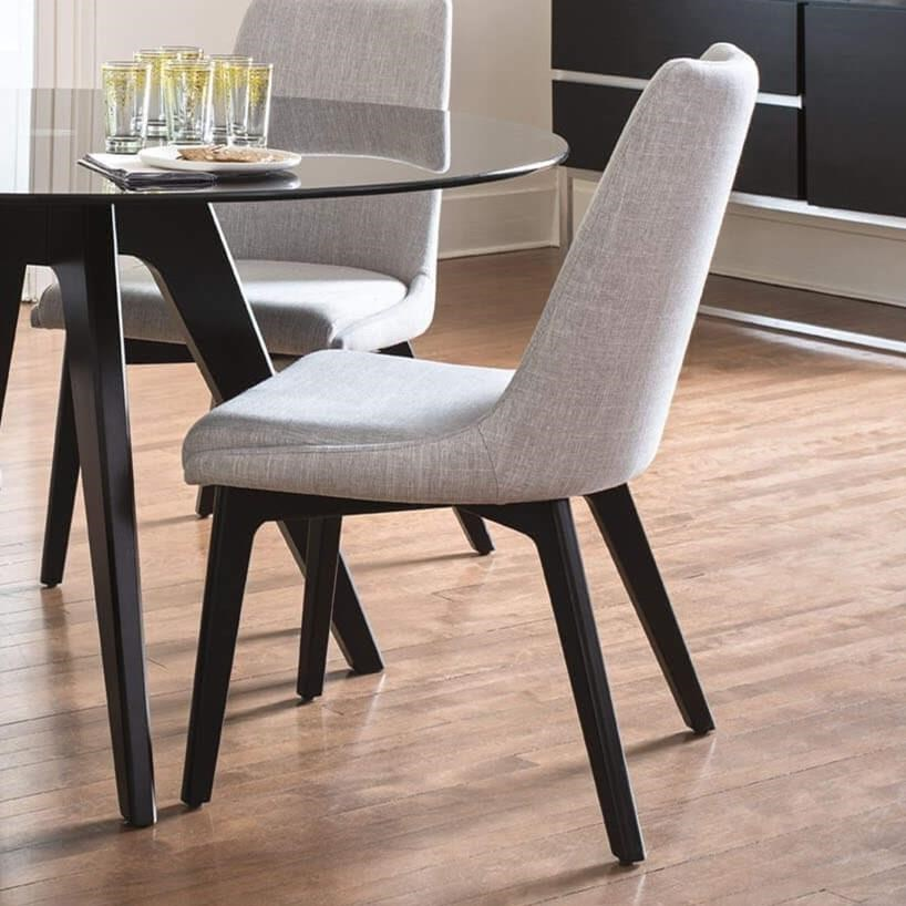 Downtown - Custom Dining Customizable Upholstered Side Chair by Canadel at Steger's Furniture