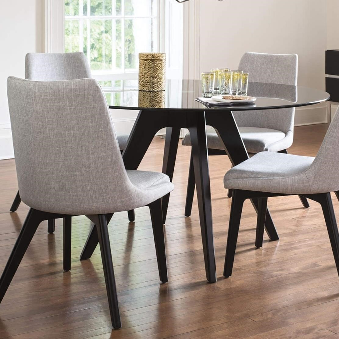Downtown - Custom Dining Customizable Dining Table by Canadel at Saugerties Furniture Mart