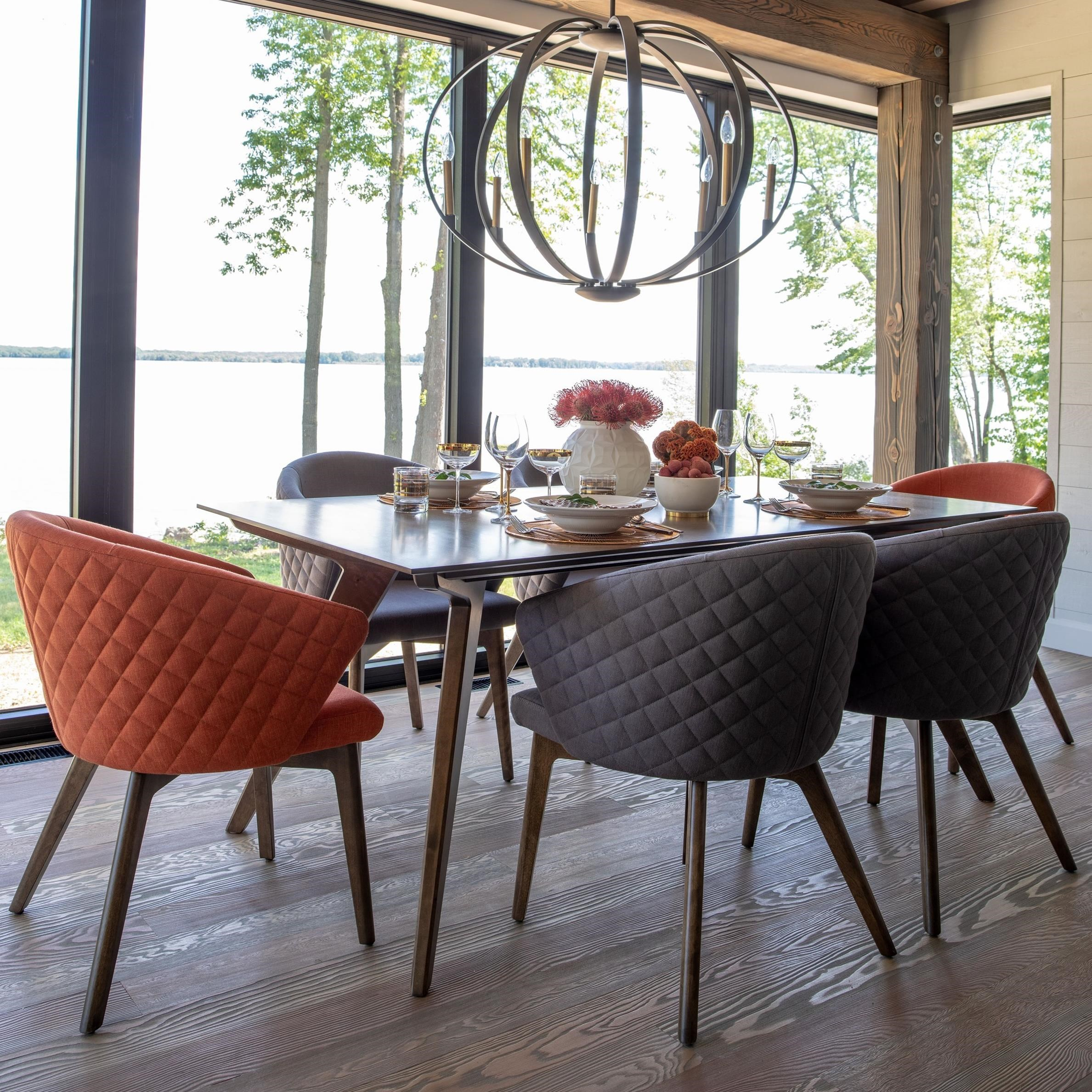 Downtown - Custom Dining Customizable Dining Set by Canadel at Steger's Furniture