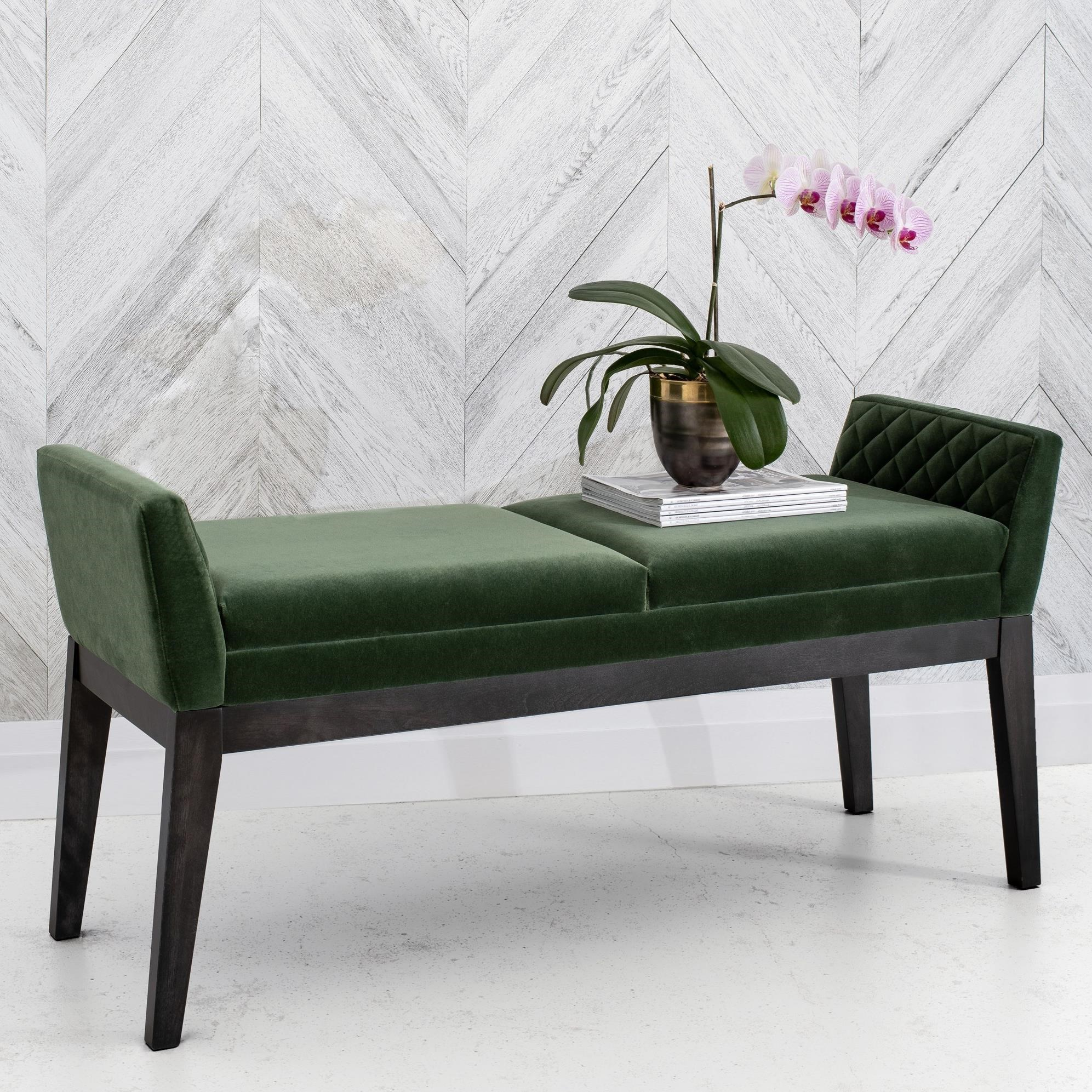 Downtown - Custom Dining Customizable Upholstered Bench by Canadel at Saugerties Furniture Mart