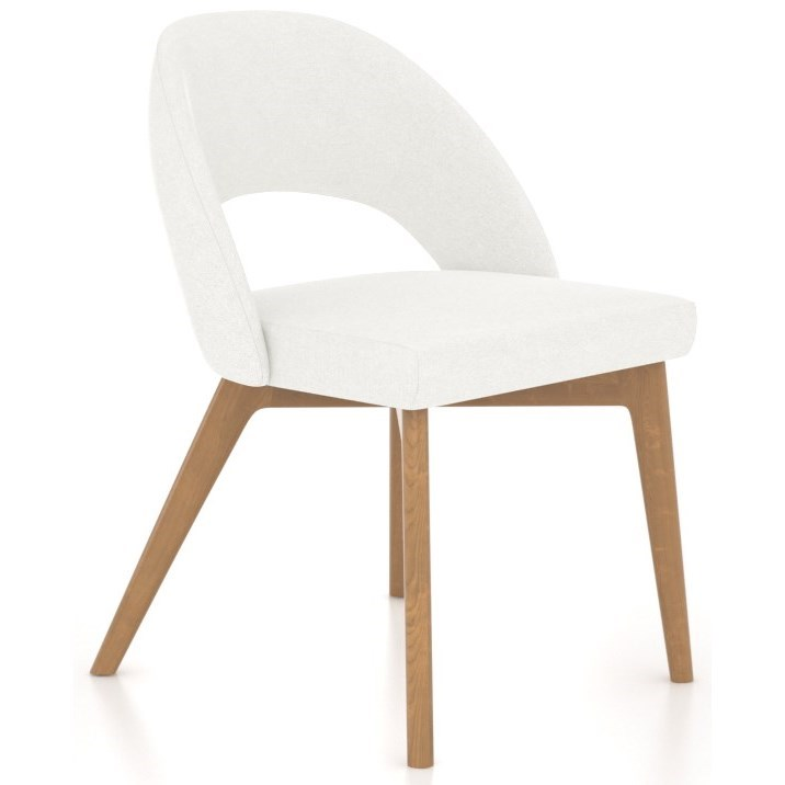 Downtown - Custom Dining Customizable Side Chair by Canadel at Jordan's Home Furnishings