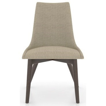 Downtown - Custom Dining Customizable Side Chair by Canadel at Saugerties Furniture Mart