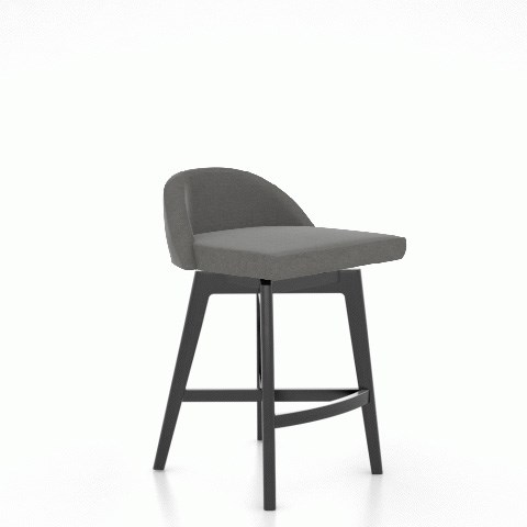"""Downtown - Custom Dining Customizable 25"""" Fixed Stool by Canadel at Saugerties Furniture Mart"""