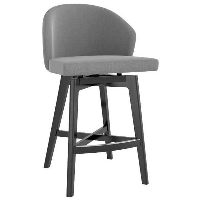 Downtown - Custom Dining Customizable Fixed Stool by Canadel at Saugerties Furniture Mart
