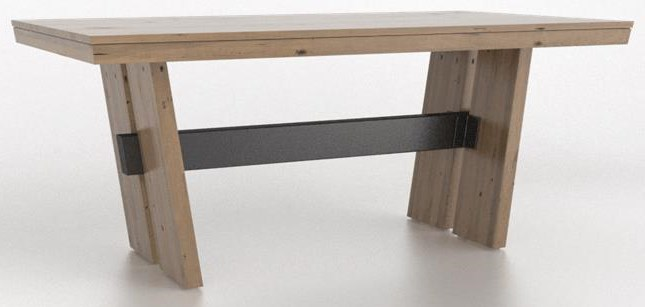 East Side East Side Dining Table by Canadel at Sprintz Furniture