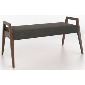 Customizable Dining Bench with Upholstered Seat