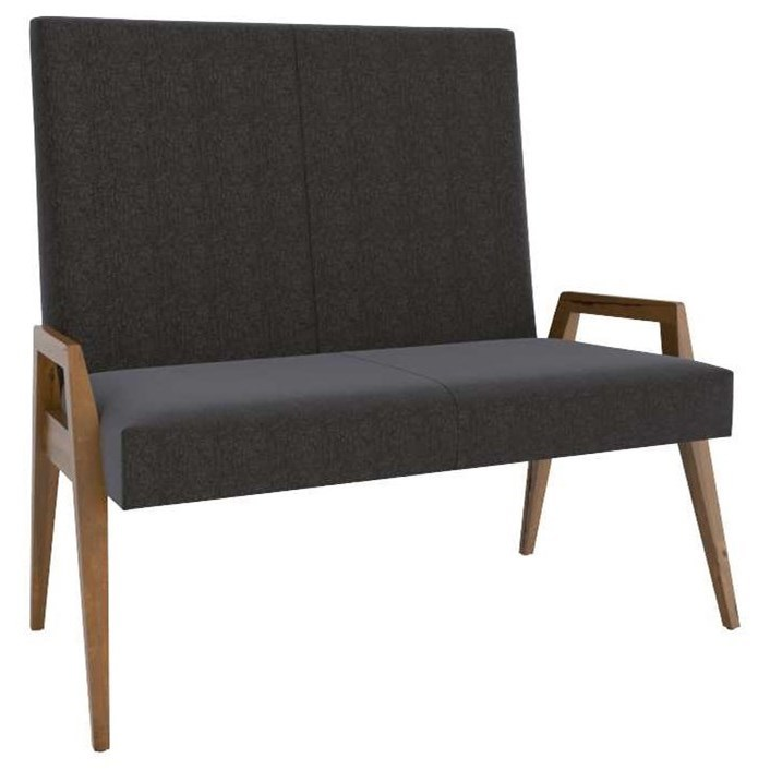 East Side Customizable Dining Bench by Canadel at Dinette Depot