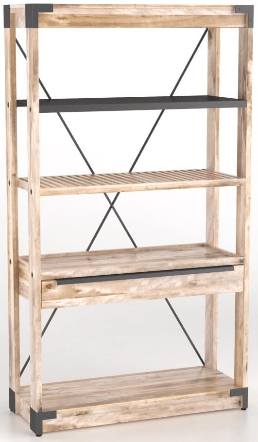 East Side Customizable Bookcase by Canadel at Steger's Furniture