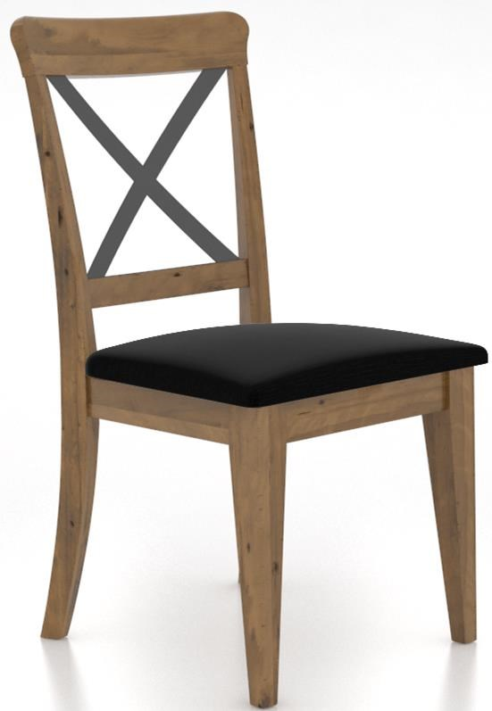 East Side Customizable Dining Side Chair  by Canadel at Sprintz Furniture