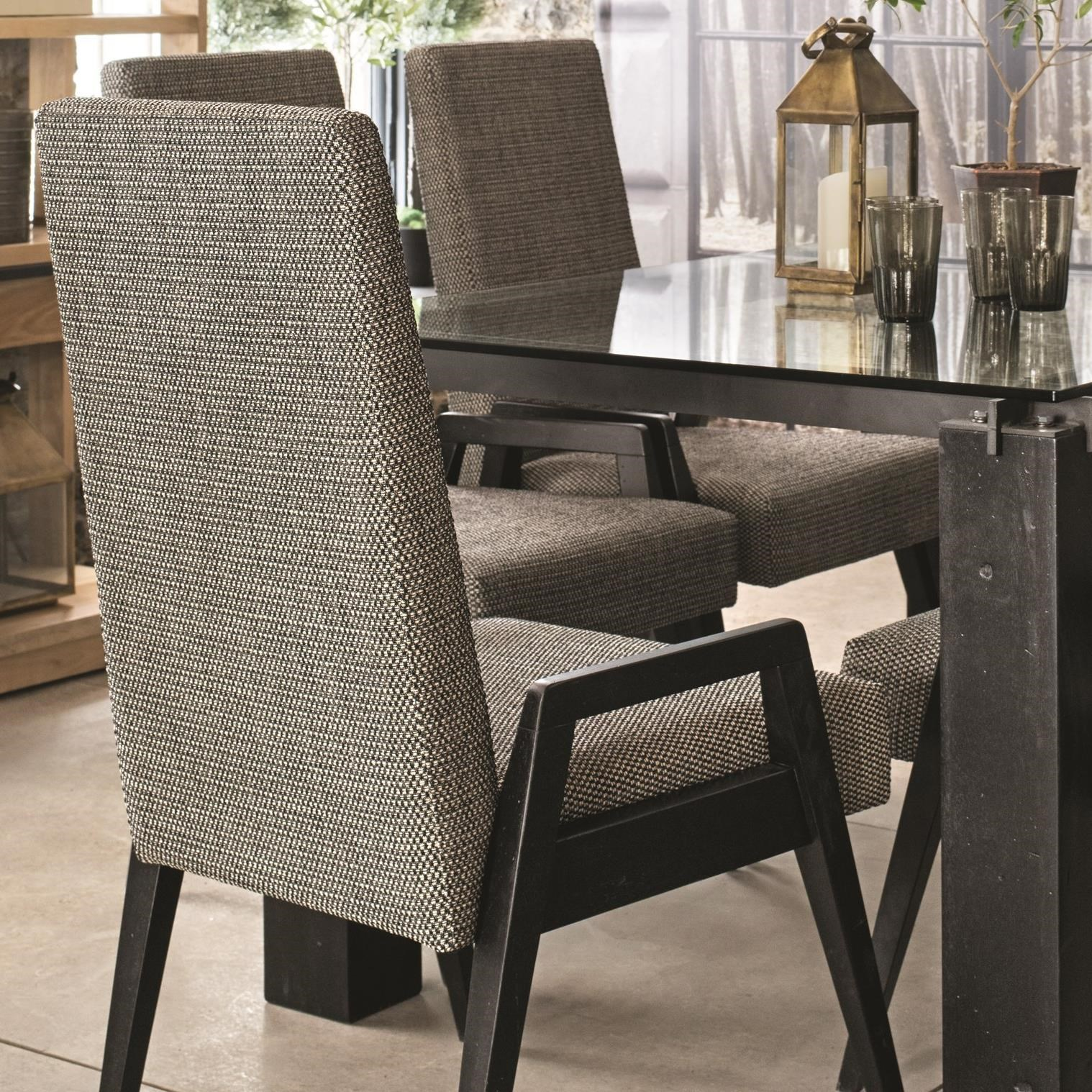 East Side Customizable Dining Arm Chair by Canadel at Dinette Depot