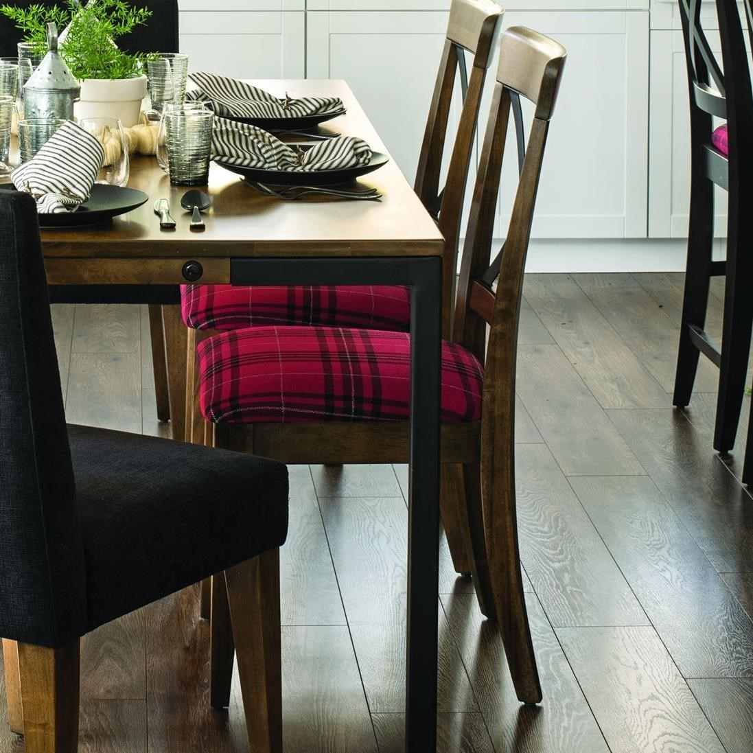 East Side Customizable Dining Side Chair by Canadel at Steger's Furniture
