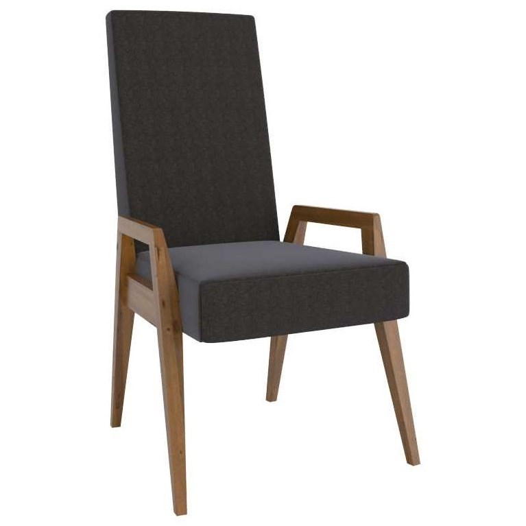 East Side Customizable Dining Arm Chair by Canadel at Jordan's Home Furnishings