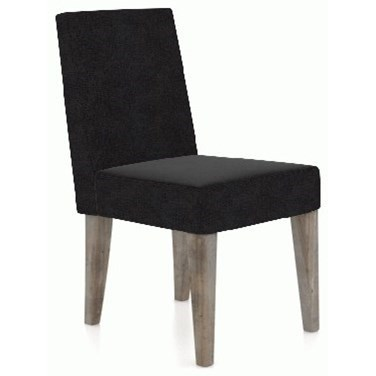 East Side Customizable Dining Side Chair by Canadel at Dinette Depot
