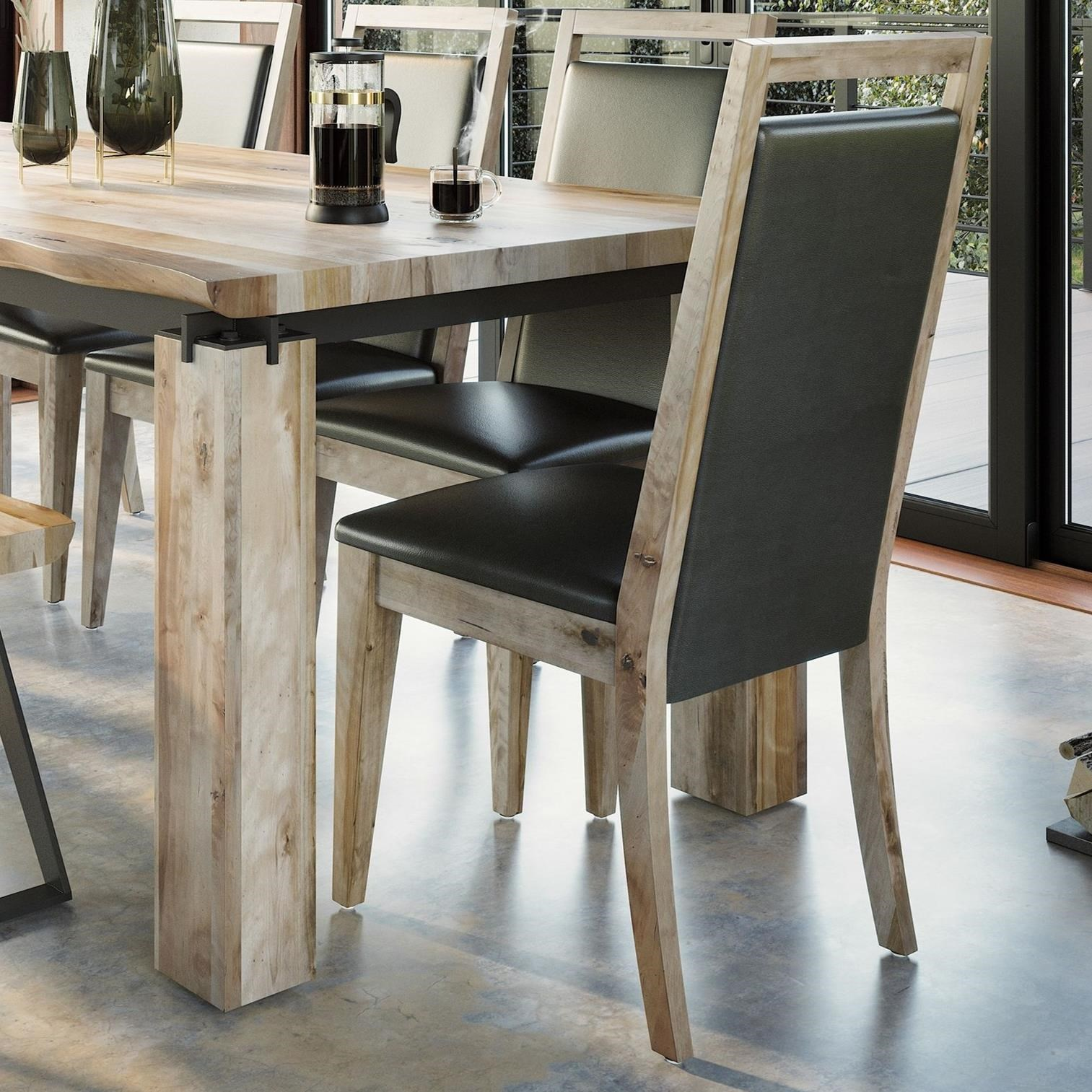 East Side Customizable Dining Chair by Canadel at Home Collections Furniture
