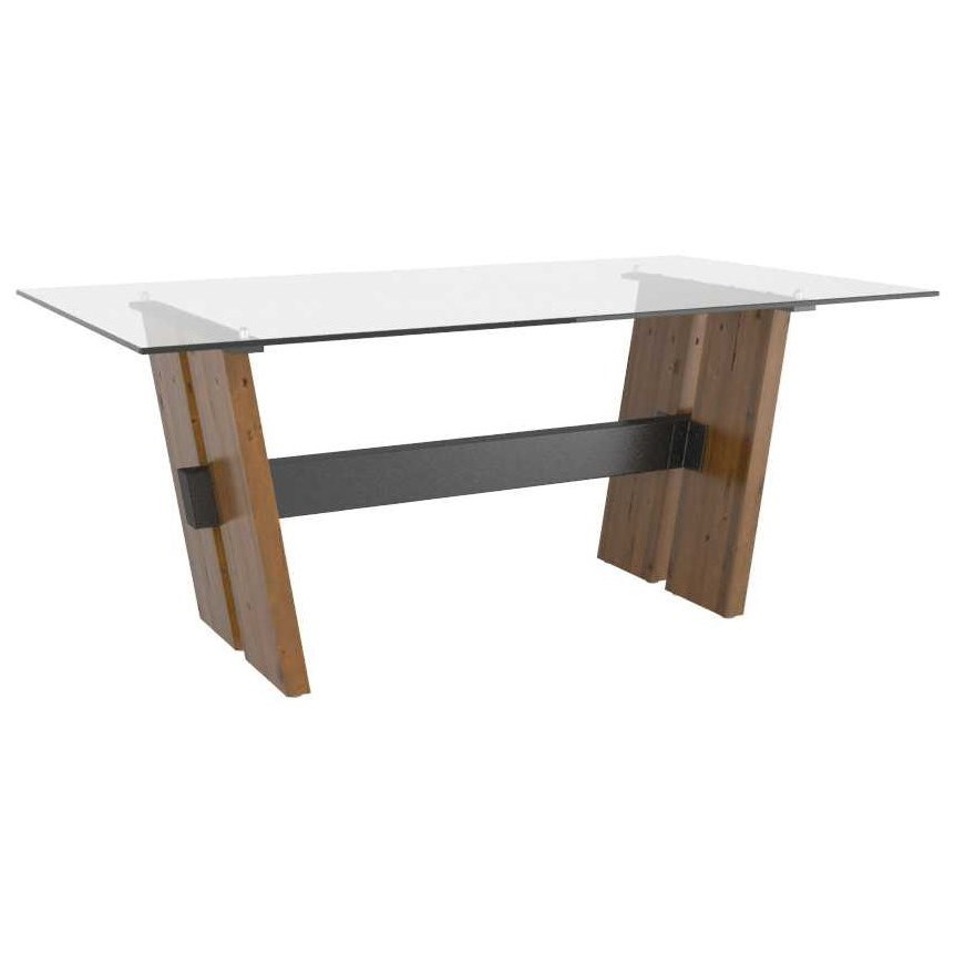 East Side Customizable Dining Table by Canadel at Dinette Depot