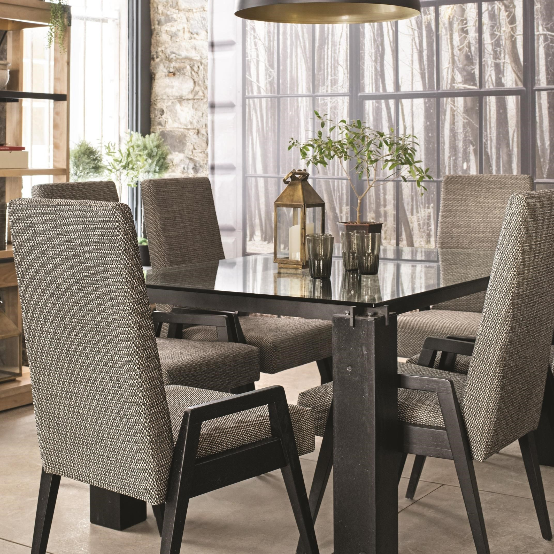 East Side Customizable Dining Table Set by Canadel at Furniture and ApplianceMart