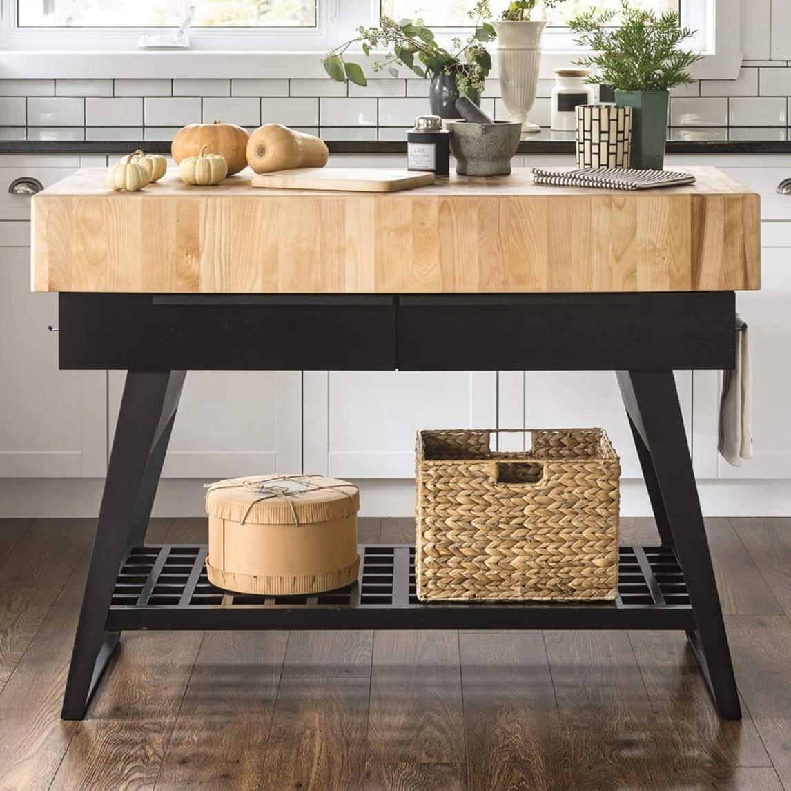 East Side Customizable Kitchen Island by Canadel at Home Collections Furniture